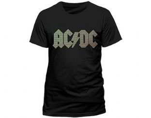 AC/DC 'Tri-Colour' T-Shirt